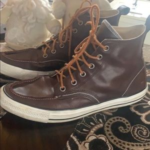 Converse Men's Leather Sneakers size 101/2
